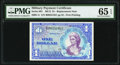 Series 661 $1 Replacement PMG Gem Uncirculated 65 EPQ