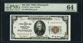 Fr. 1870-I $20 1929 Federal Reserve Bank Note. PMG Choice Uncirculated 64