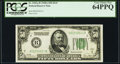 Fr. 2101-B $50 1928A Federal Reserve Note. PCGS Very Choice New 64PPQ