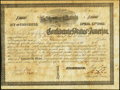 Confederate Notes:Group Lots, Ball 150 Cr. 113 $1,000 1862 Bond Fine. . ...