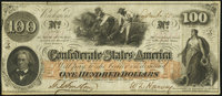 T41 $100 1862 PF-11 Cr. 319A Very Fine-Extremely Fine