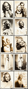 "Movie Posters:Musical, Sonja Henie (c.1930s-1940s). Overall: Fine+. Photos (26) (7.5"" X 9.25"" & 8"" X 10""). Musical.. ... (Total: 26 Items)"