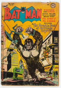 Batman #75 (DC, 1953) Condition: GD
