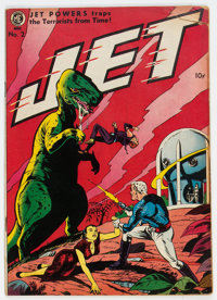Jet Powers #2 (Magazine Enterprises, 1951) Condition: GD/VG