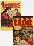 Golden Age (1938-1955):Crime, The Perfect Crime #26 and My Experience #19 Group (Cross/Fox, 1949-52).... (Total: 2 )