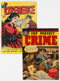 The Perfect Crime #26 and My Experience #19 Group (Cross/Fox, 1949-52).... (Total: 2 )