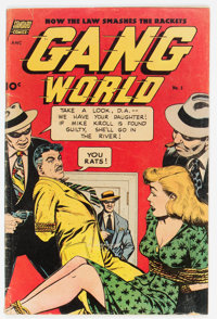 Gang World #5 (Standard, 1952) Condition: VG