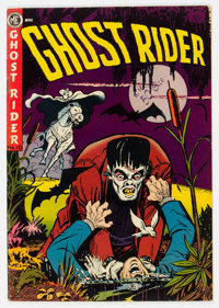 Ghost Rider #10 (Magazine Enterprises, 1952) Condition: FN+