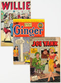 Golden Age (1938-1955):Humor, Golden Age Humor Group (Various Publishers, 1940s-50s) Condition: Average VG-.... (Total: 10 Comic Books)