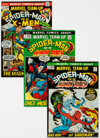 Marvel Team-Up Group of 98 (Marvel, 1972-85) Condition: Average FN/VF.... (Total: 98 Comic Books)