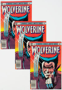 Wolverine Limited Series #1 Group of 53 (Marvel, 1982) Condition: Average FN/VF.... (Total: 53 Comic Books)