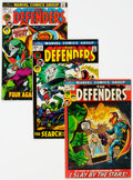 Bronze Age (1970-1979):Superhero, The Defenders Group of 40 (Marvel, 1972-80) Condition: Average FN/VF.... (Total: 40 Comic Books)