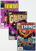 Modern Age (1980-Present):Miscellaneous, Marvel Modern Age Short Box Group (Marvel, 1980s) Condition: Average FN/VF....
