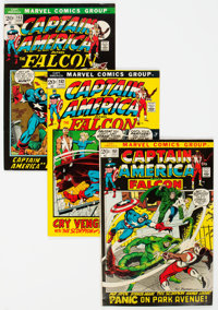 Captain America Short Box Group (Marvel, 1972-81) Condition: Average FN/VF