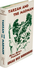 Books:First Editions, Edgar Rice Burroughs. Tarzan and the Madman. New York: Canaveral Press, 1964. First edition....
