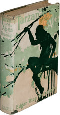 Books:First Editions, Edgar Rice Burroughs. Tarzan of the Apes. New York: A. L. Burt Company, [circa 1915]. Second Burt edition, early pri...