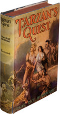 Books:First Editions, Edgar Rice Burroughs. Tarzan's Quest. Tarzana: Edgar Rice Burroughs, Inc., [1936]. First edition....