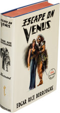 Books:First Editions, Edgar Rice Burroughs. Escape on Venus. Tarzana: Edgar Rice Burroughs, Inc., [1946]. First edition. With slip signe...