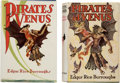 Books:First Editions, Edgar Rice Burroughs. Two Copies of Pirates of Venus. Tarzana and London: [1934-1935]. First and first English editi...