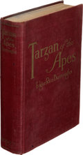 Books:First Editions, Edgar Rice Burroughs. Tarzan of the Apes. Chicago: A. C. McClurg & Co., 1914. First edition, with all first state po...