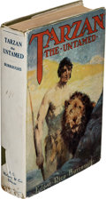 Books:First Editions, Edgar Rice Burroughs. Tarzan the Untamed. Chicago: A. C. McClurg & Co., 1920. First edition....