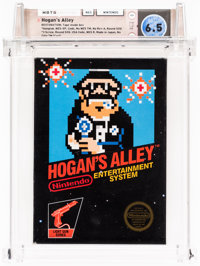 Hogan's Alley [Hangtab, Fifth Release] Restored Wata 6.5 CIB NES Nintendo 1985 USA