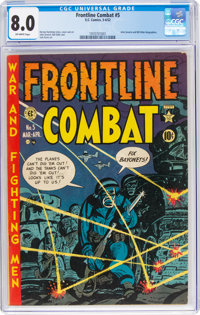 Frontline Combat #5 (EC, 1952) CGC VF 8.0 Off-white pages