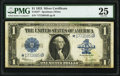 Large Size:Silver Certificates, Fr. 237* $1 1923 Star Silver Certificate PMG Very Fine 25.. ...
