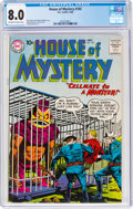 Silver Age (1956-1969):Horror, House of Mystery #102 (DC, 1960) CGC VF 8.0 Off-white to white pages....