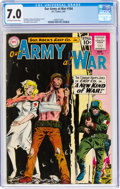 Silver Age (1956-1969):War, Our Army at War #104 (DC, 1961) CGC FN/VF 7.0 Off-white to white pages....