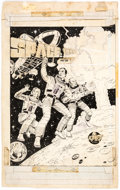 Original Comic Art:Covers, Russ Heath Space: 1999 #PR-29 Cover Original Art (Peter Pan Industries/Power Records, 1976). ...
