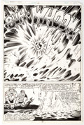 Original Comic Art:Panel Pages, Don Perlin and Bob Wiacek Man-Thing #6 Story Page 16 Original Art (Marvel, 1980)....