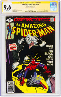 The Amazing Spider-Man #194 Signature Series - Stan Lee (Marvel, 1979) CGC NM+ 9.6 White pages