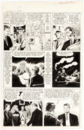 Original Comic Art:Panel Pages, Doug Wildey Mystical Tales #7 Story Page 2 Original Art (Marvel, 1957)....