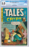 Tales From the Crypt #20 (#1) (EC, 1950) CGC VG/FN 5.0 Off-white pages