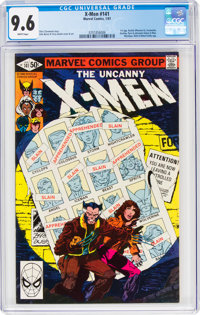 X-Men #141 (Marvel, 1981) CGC NM+ 9.6 White pages