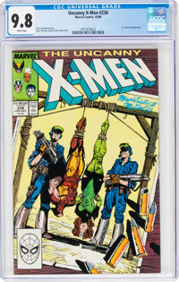 X-Men #236 (Marvel, 1988) CGC NM/MT 9.8 White pages