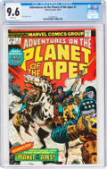 Bronze Age (1970-1979):Miscellaneous, Adventures on the Planet of the Apes #1 (Marvel, 1975) CGC NM+ 9.6 White pages....