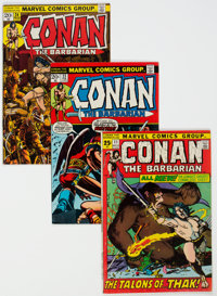 Conan the Barbarian Short Box Group (Marvel, 1970s-80s) Condition: Average FN/VF