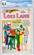 Silver Age (1956-1969):Superhero, Superman's Girlfriend Lois Lane #29 (DC, 1961) CGC VF+ 8.5 White pages....