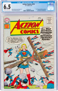 Silver Age (1956-1969):Superhero, Action Comics #276 (DC, 1961) CGC FN+ 6.5 Off-white to white pages....