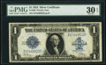 Large Size:Silver Certificates, Fr. 239 $1 1923 Silver Certificate PMG Very Fine 30 EPQ.. ...