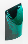 Glass, Denji Takeuchi (Japanese, b. 1934) Compositi...