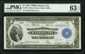 Large Size:Federal Reserve Bank Notes, Fr. 739 $1 1918 Federal Reserve Bank Note PMG Choice Uncirculated 63 EPQ.. ...