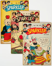 Sparkler Comics Group of 8 (United Feature Syndicate, 1947-48).... (Total: 8 Comic Books)