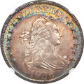1806 50C Pointed 6, Stem, O-123, T-23, Low R.5, MS64 NGC....(PCGS# 39329)