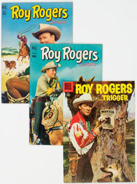 Roy Rogers Comics Group of 35 (Dell, 1952-61) Condition: Average VF+.... (Total: 35 )