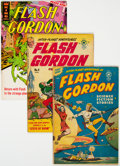 Golden Age (1938-1955):Science Fiction, Flash Gordon Group of 14 (Various Publishers, 1950-69) Condition: Average FN.... (Total: 14 Comic Books)