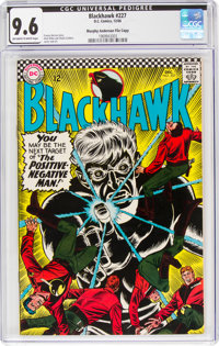 Blackhawk #227 Murphy Anderson File Copy (DC, 1966) CGC NM+ 9.6 Off-white to white pages