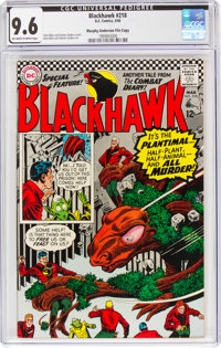Blackhawk #218 Murphy Anderson File Copy (DC, 1966) CGC NM+ 9.6 Off-white to white pages